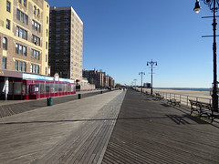 Q Train to Coney Island New York November 2016 (10) (Richie Wisbey) Tags: coney island nathans famous hot dogs brooklyn beach seaside sand sun beautiful day surf ave stillwell brighton requiem for dream richard wisbey parachute ride cyclone