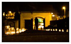 candle path (08dreizehn) Tags: 08dreizehn badenwuerttemberg badenwürttemberg beleuchtung deutschland europa europe friedhofunterdenlinden katharinenkirche kerze kerzen olympusm45mmf18 olympuspenepl7 reutlingen thomashassel tor abens allemagne candle chandelle gate germany illumination lighting nullachtdreizehn