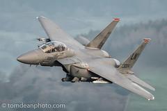 USAF F-15E Strike Eagle 'PISTOL 13' (Tom Dean.) Tags: cadairidris d810 nikon lfa7 machloop eagle strike f15e usaf