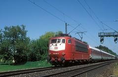 103 178  bei Ulm  16.05.98 (w. + h. brutzer) Tags: ulm eisenbahn eisenbahnen train trains deutschland germany elok eloks railway lokomotive locomotive zug 103 db webru e03 analog nikon