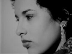 (AlexandraGalvis) Tags: blackandwhite earings blackwhite vimeo glamour shot profile pensive lipstick 16mm