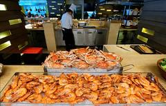 Lunch in the Philippines (Asiacamera) Tags: sushi thailand bangkok sashimi philippines shrimp prawns manila asiacamera