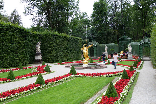 2015-08-15 Schloss Linderhof, Ettal 032 Schloss Linderhof, Schlosspark