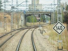P9122399 (jon_zuniga1) Tags: railway via semaforo signal agujas seales seal ferrocarril vias ffcc vagondecola sealluminosa desdecola
