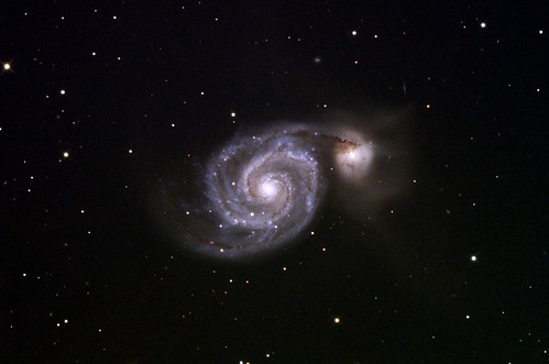 "M51 • <a style=""font-size:0.8em;"" href=""http://www.flickr.com/photos/136607044@N02/21311154173/"" target=""_blank"">View on Flickr</a>"