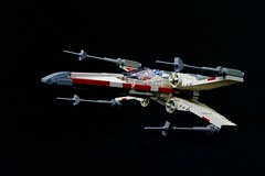 Mike Psiaki X-wing (75102 refit) (Brickwright) Tags: starwars lego xwing yavin starfighter psiaki