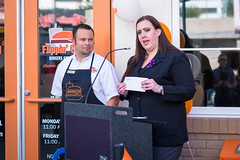 20151008-FlippinGood-09 (clvpio) Tags: vegas october downtown mayor lasvegas good burger event opening flipping goodman 2015