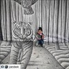 #benheinerussia (Ben Heine) Tags: baby cute art child sweet russia drawing moscow adorable exhibition 3dart bébé benheineart pencilvscamera benheinerussia