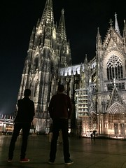 Kölner Dom silhouettes (Jenny.Lawrence) Tags: travel cities cologne