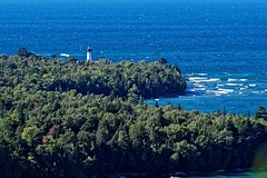 Shipwreck Coast 8485 w (GlasseyeA) Tags: lighthouse up michigan greatlakes upperpeninsula lakesuperior yooper ausable picturedrocks