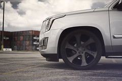 Cadillac Escalade on Dub Swerv (Dub_Wheels) Tags: auto car florida wheels cadillac rims suv dub dubs escalade stance swerv dubwheels mccustoms
