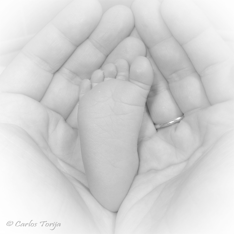 Welcome to my life (Carlos Torija) Tags  people blackandwhite bw baby white  love 86a4e1c718d