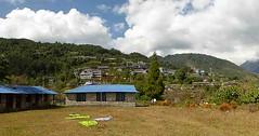 Ghandruk 27 (Mabacam) Tags: nepal homes foothills trekking walking landscape outdoors scenery village hiking annapurna acap mountainvillage 2015 ghandruk ghandrung annapurnaconservationareaproject annapurnafoothills