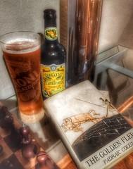 Books and brew...Harvest edition. (tobyhume) Tags: jason beer greek golden smith apricot fleece samuel mythology myth colum myths padraic