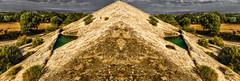 EL TEMPLO DE SCHUBABH (GRafa Molina) Tags: monumento montaa roca aljibe albelda aljub arblol