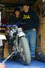 DSC06694(1) copy (jason.kewley) Tags: wisconsin race grandfather motorbike granddaughter motorcycle motor racer racebike walworth flattrack walworthcountyfair flattrackracing motorcompany