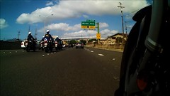 Precision Riding (Ralph Toyama) Tags: camera bike video close ride action pov police formation pointofview solo freeway bmw motorcycle precision honolulu department officer drill hpd r1200rt intova r1200rtp solobike