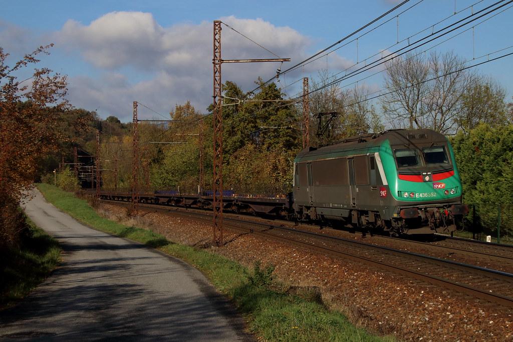 BB-36352 et le traditionnel Gefco (Maxime Espinoza) Tags: tresserve gefco  train