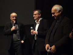 Con lo scrittore Vincenzo Cerami