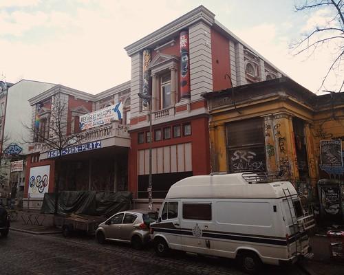 Was irritierend renoviert aussieht: die rote Flora. #hamburg