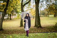 Sara (Ash if) Tags: trees portrait green grass umbrella sara bolton haslampark