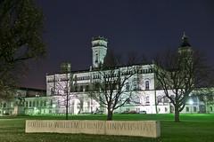 Uni Hannover (Patrick Trockel) Tags: night nacht hannover
