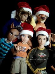 Merry Christmas everybody ^_^ (eternalizuan) Tags: riverhudson maledolls clawdwolf mannytaur takeiteasycruz christmas2015