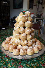 Croquembouche. (Gillian Floyd Photography) Tags: christmas dessert pastry choux croquembouche