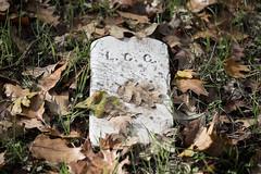 Initials Only (glo photography) Tags: monument cemetery graveyard northerncalifornia vintage headstones graves historic monuments tombstones plot gravemarkers plots santarosaca santarosaruralcemetery gloriasalvanteglophotography