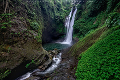 Aling-Aling waterfall (Helminadia Ranford) Tags: bali nature trekking indonesia landscape village hiking singaraja buleleng alingaling wtarfall