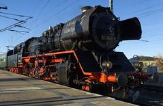 50 3648 des SEM Chemnitz beider Einfahrt in den Bahnhof Dresden Neustadt am 06.12.2015 in Roßwein (stephanklotzsch) Tags: sem 50 chemnitz ig dampflok nossen sonderzug 3648 nikolausexpress