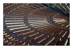 Poolside Table... (roylee21918) Tags: cast iron abstract