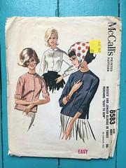 IMG_5686 (kittee) Tags: kittee vintagesewing vintagepattern