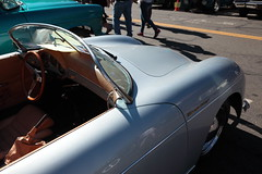 pre-911 (1600 Squirrels) Tags: 1600squirrels photo 5dii lenstagged canon24105f4 classic car automobile show downtownalamedaclassiccarshow parkstreet alameda alamedacounty eastbay sfbayarea nocal california usa porsche speedster 356a
