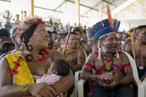 Maria Leusa e Arnaldo Kaba - Munduruku.