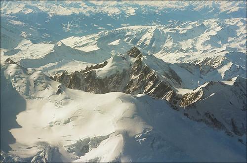 Alps peaks