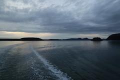 Sunday Sunset (DanaRane) Tags: 2016 2016october hiking orcasisland sunset ferry