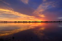 IMG_5957 (Light from Light) Tags: sunrise water orange sky clouds canong12 colorado boydlake
