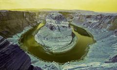 Horseshoe Bend -Page, Arizona (MegHan Seidel) Tags: page horseshoe bend arizona az grand canyon landscape lomochrome lomography film 35mm