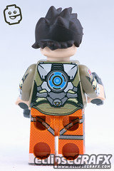 Blink (eclipseGrafx) Tags: blink overwatch tracer minifigure eclipsegrafx