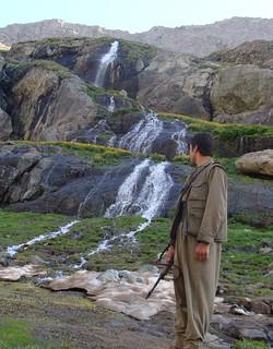 Kurdish PKK Guerilla