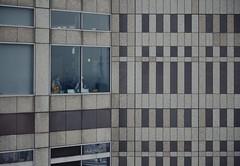 Tokyo 4068 (tokyoform) Tags: tokyo tokio chrisjongkind tokyoform architecture kenzotange cityhall windows girl reflection life travel japan japanese asia asian canon 6d skytree geometry geometric
