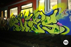 Running in Munich part. 2 #stolenstuff #graffitiblog #flickr4stolen #graffitimunich #sbahn #tires #panels #running #graffititrain #instagraff #graffiti (stolenstuff) Tags: instagram stolenstuff graffiti graffititrain benching