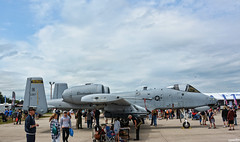 A-10 Thunderbolt II (Chad Horwedel) Tags: a10thunderboltii warthog jet attack 267 eaaairshow oshkosh wisconsin