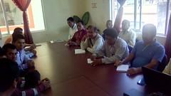 En #Huajuapan se desarrolló reunión  para atender la problemática educativa en el mpio de de San Simón Zahuatlán #Oaxaca  (2)