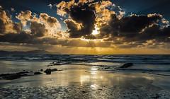 Playa Sopela - Euskadi (Marc ALMECIJA) Tags: 2010 582010 espagne euskadi mer sea clouds water ocan light beach playa sunset sunrise