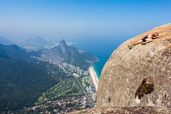 IMG_5027 (sergeysemendyaev) Tags: 2016 rio riodejaneiro brazil pedradagavea    hiking adventure best    travel nature   landscape scenery rock mountain    high forest  ocean   blue