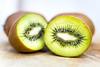 Kiwi Half (andythekeys) Tags: kiwi fruit green slices half wood cut