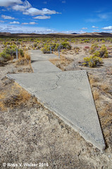 Arrow #5, Pumpernickel Valley, Nevada revisited (walkerross42) Tags: giant concrete arrow airmail navigation pumpernickelvalley nevada pilots