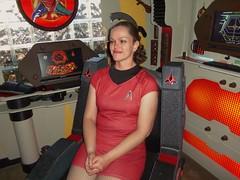Deb, of the House of VamPyr (stevenighteagle) Tags: startrek starfleet trekkies fandom klingon scifi tos tng voy ds9 ent guffey colorado